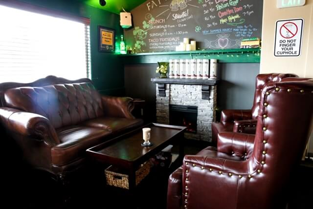 Inside Fat Irish Pub